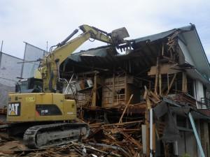 木造住宅解体