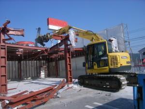 鉄骨造建築物の解体