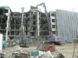 RC建築物解体