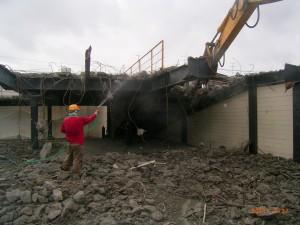鉄骨造建築物解体