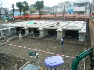 田上公園貯留施設工事